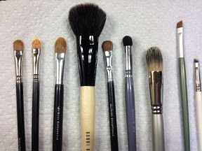 Clean Brushes Drying