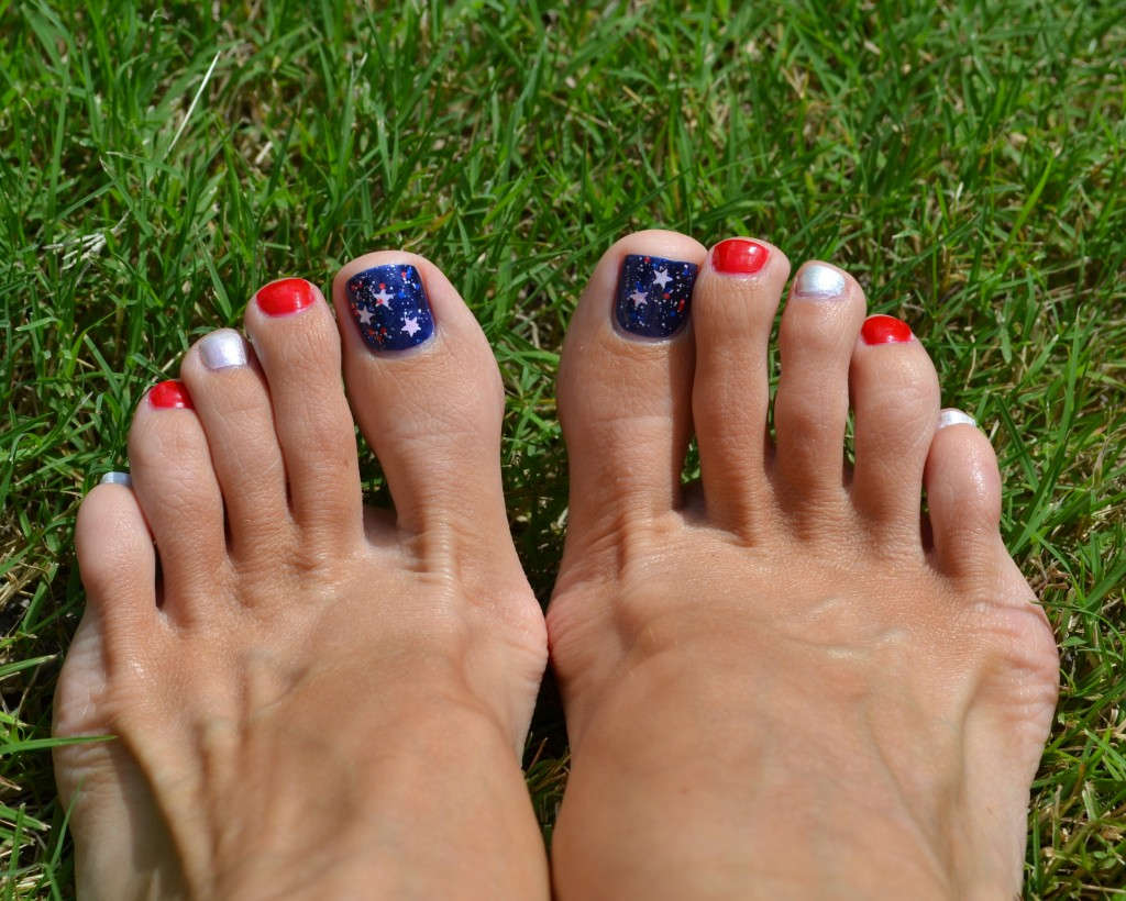 Sinfulcolors 4th Of July Patriotic Pedicure Pretty